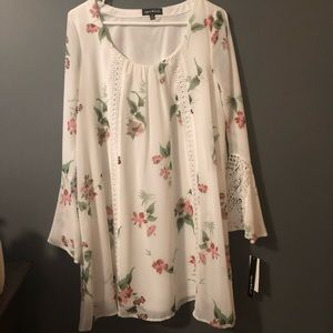 Flower Tunic Dress